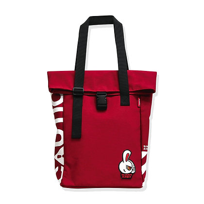 BLOODY BUNNY TOTEPACK (CLASSIC/RED)