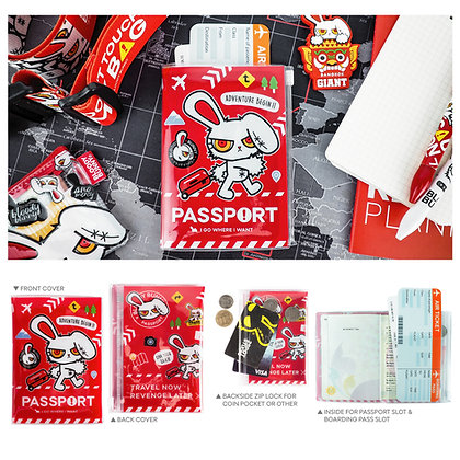 Bloody Bunny Passport Cover