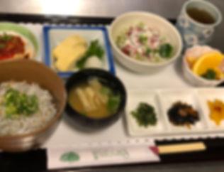 しらす丼&ヘルシーセット.JPG