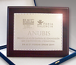 Anubis cosmetics group award