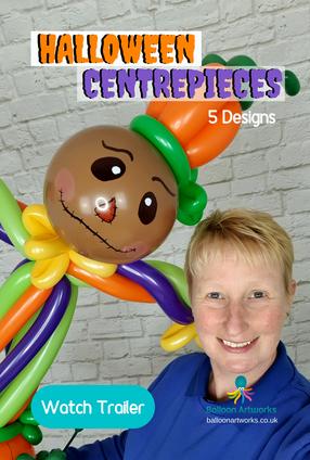 Halloween Centerpieces Balloon Tutorials