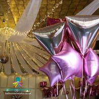 Pink wedding balloon decorations Balloon Artwor