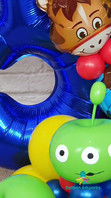 3rd Birthday Balloon Bouquet - Toy Story Themed Balloon Display