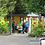 Thumbnail: Garden Art - Fence Balloon Art