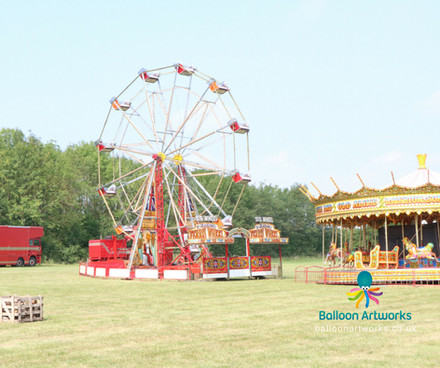 Fairground theme wedding Derby Derbyshire Balloon Artworks.jpg
