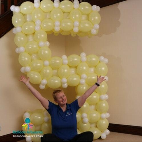 Giant balloon numbers