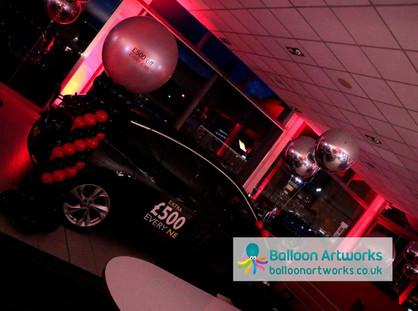 Car decorations Bristol Street Motors Ch