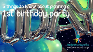 5 things you need to know about planning a 1st birthday party