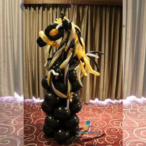 Wild balloon horse - floor standing