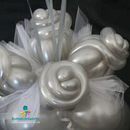 Wedding balloons handmade balloon flower base Balloon Artworks Ripley Belper Alfreton Heanor Eastwood Swanwick Leabrooks Somercotes Kimberley Derby Nottingham Chesterfield.jpg