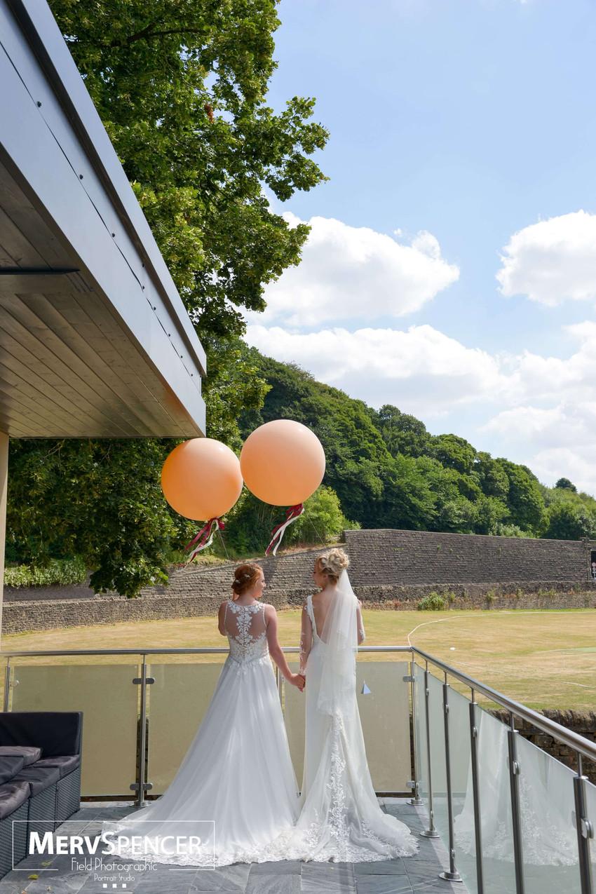 Hurt Arms wedding venue Ambergate balloo