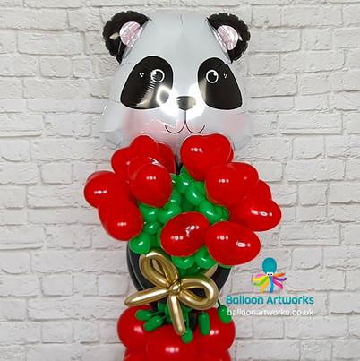 Panda Balloon Bouquet - Balloon Delivery Ripley and Alfreton Derbyshire