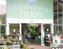 Balloon display for Derby Garden Centre foyer by Balloon Artworks Ripley Derbyshire