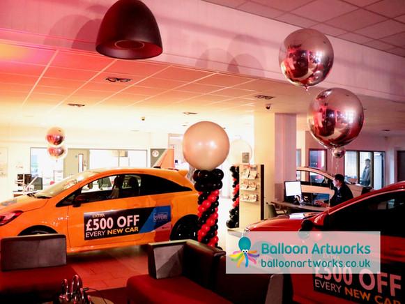 Car balloons Bristol Street Motors Chest
