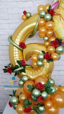 6th Birthday Balloon Bouquet - Ripley, Alfreton, Amber Valley, Derbyshire, Nottingham