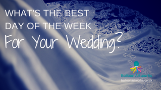What's the best day of the week for your wedding?