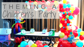 Theming a children's party