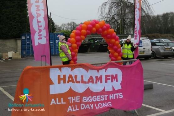 Sheffield Hallam FM arch Hotel Van Dyk C