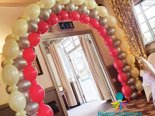 Special Birthday Arch