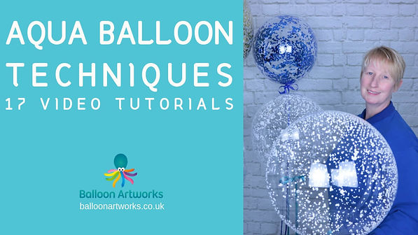 Aqua Balloon training videos Balloon Art