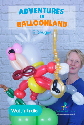 Wonderland Balloon Centerpieces Tutorials