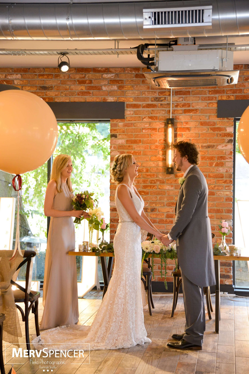 Belper wedding venue Hurt Arms balloons