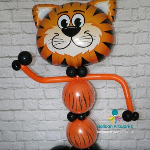 Tiger balloon character