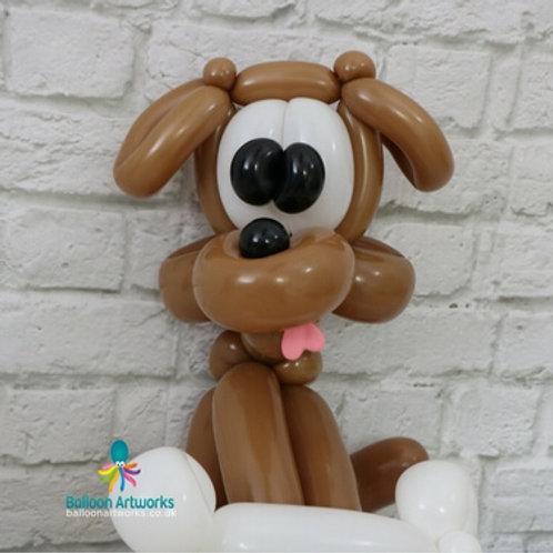 Balloon hound dog