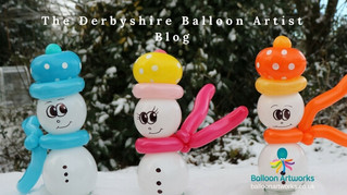 Amazing balloon modelling for Christmas parties