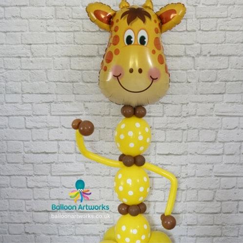 Giraffe balloon character