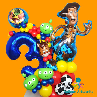 Create Balloon Displays Without Glue