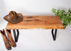 SOLD - Pecan Bench #1