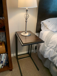 Reclaimed Pine Bedside Table