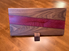 Walnut and Marmalade Epoxy River Charcuterie Board