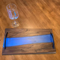 SOLD - Black Walnut Charcuterie with _De