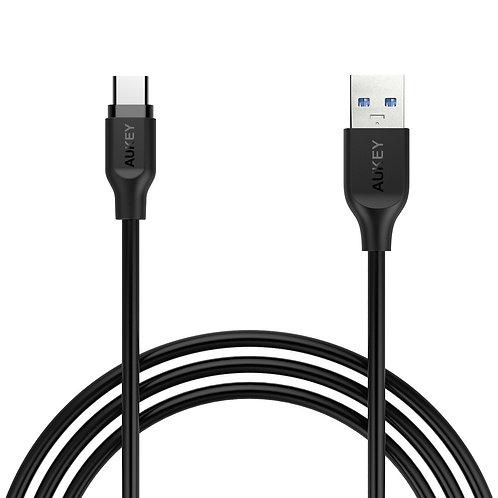 Cable Aukey USB-C a USB-A v3.0 gran calidad