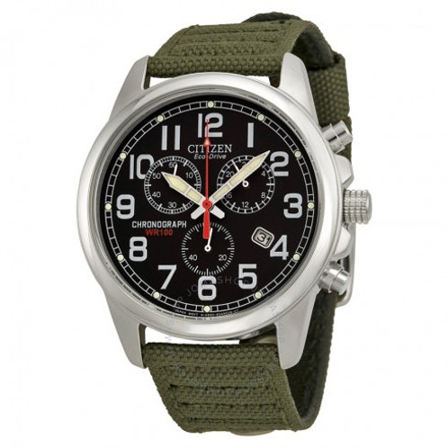 Reloj Citizen militar cronografo AT0200