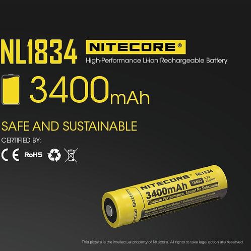 Batería Nitecore tipo 18650 3400 mAh
