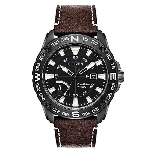 Reloj Citizen AW7045 indicador reserva