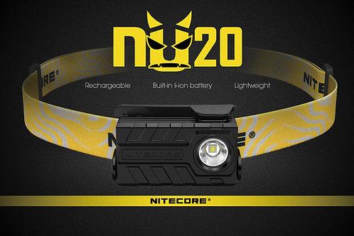 Linterna frontal Nitecore NU20 recargable
