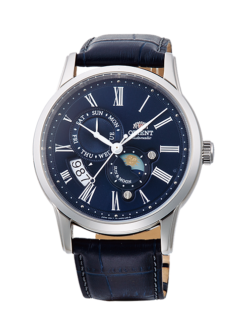 Reloj Orient Sun and Moon 3 Azul