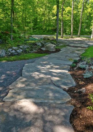 Giant Flagstone Walkway