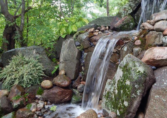 Beautiful Custom Waterfall
