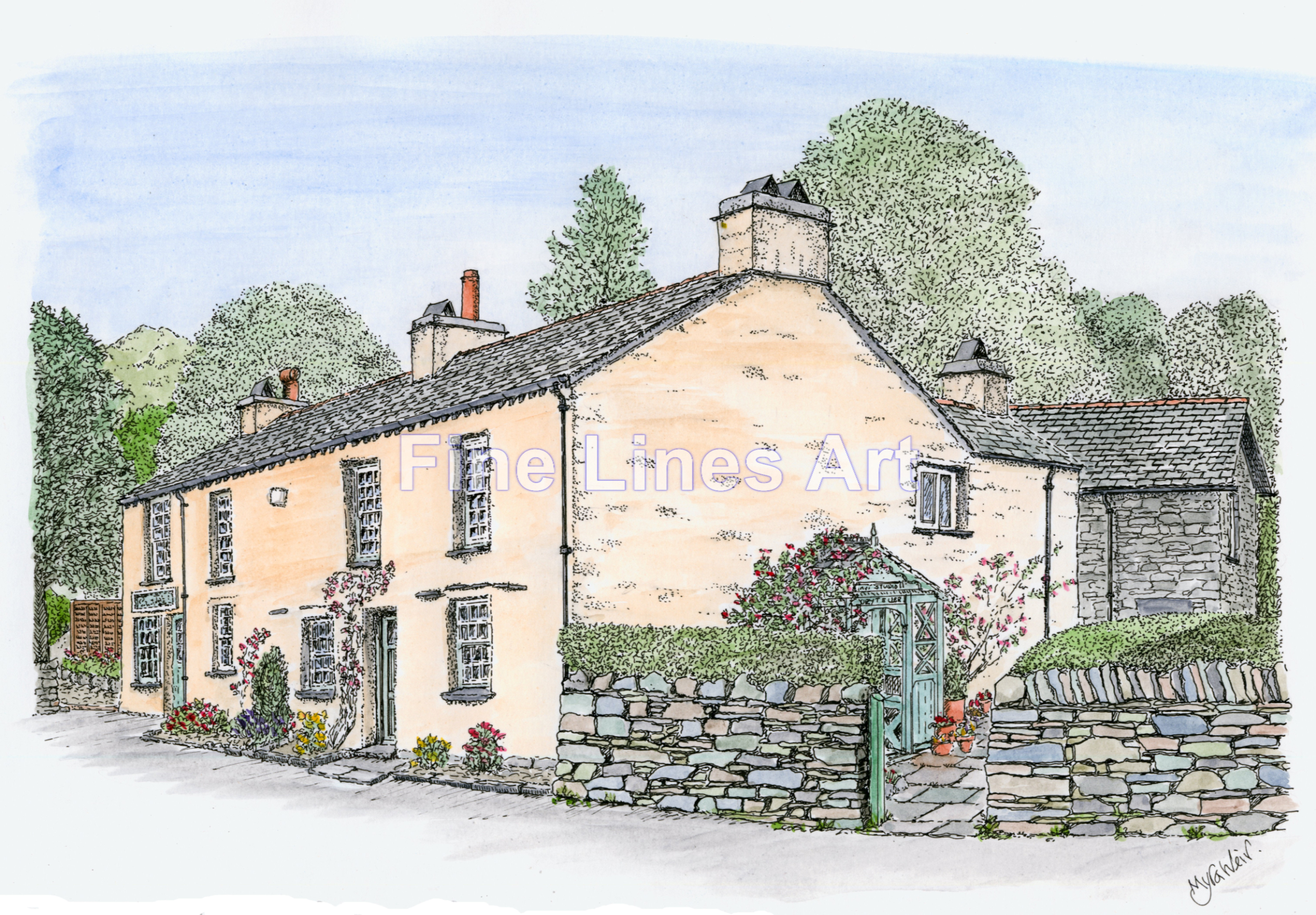 The Story Teller's Cottage, Grasmere