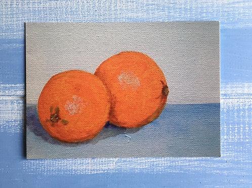 'Oranges' Card. 46