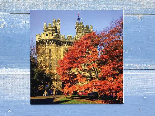 Greeting Card, Autumn, Lancaster Castle. 55