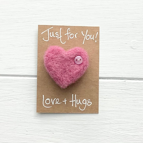 12. Just for You! Felted Heart. Inc. p+p