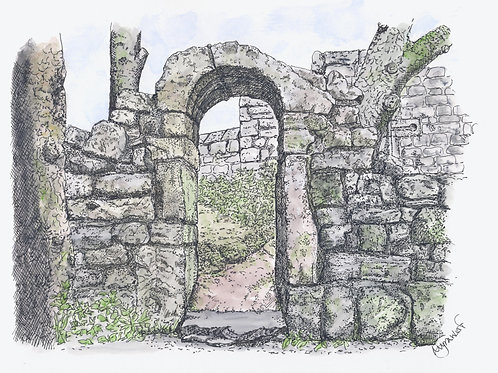 Saxon Doorway