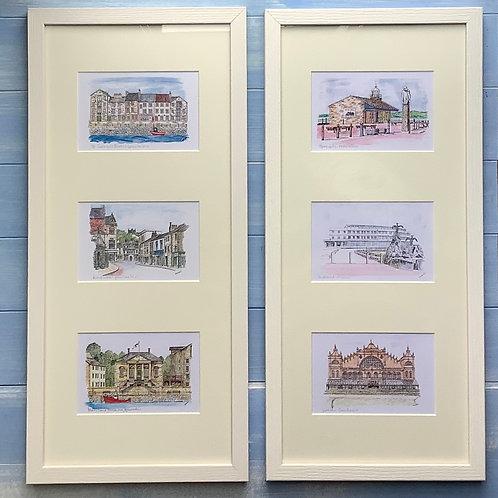 Framed Trios (landscape pictures)