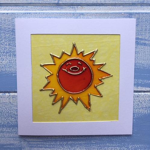 Handmade  Card. Sun. 23